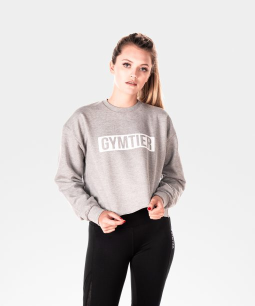 gym cropped jumper