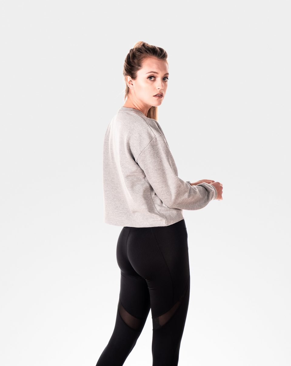 women's gym sweatshirt